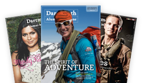 Dartmouth Alumni Magazines Fanned Out