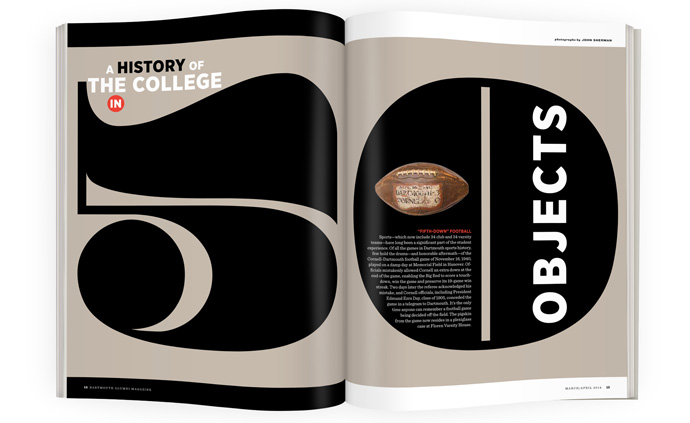 A History of Dartmouth in 50 Objects | Dartmouth Alumni Magazine