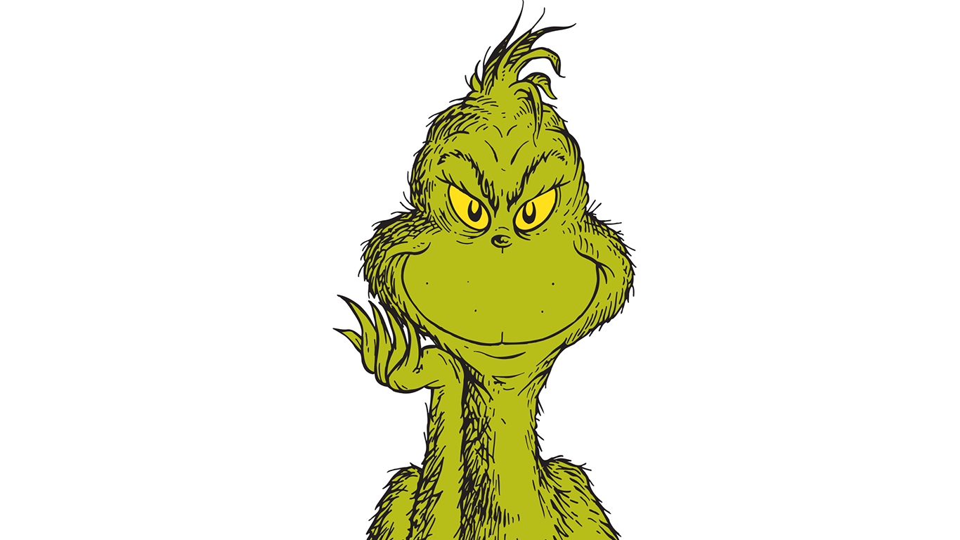 You Re A Green One Mr Grinch Dartmouth Alumni Magazine The grinch's schedule (black and white) sticker. you re a green one mr grinch