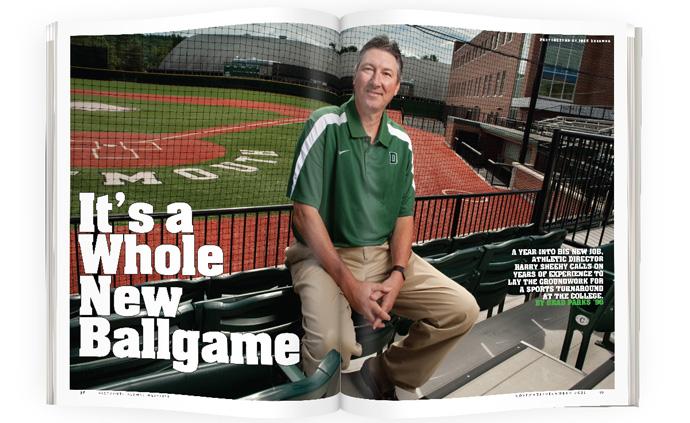 It's a Whole New Ballgame   Dartmouth Alumni Magazine