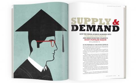 Supply and demand dartmouth alumni magazine - Freakonomics table of contents ...