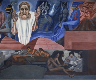 """Coming of Quetzalcoatl,"" Jose Clemente Orozco"