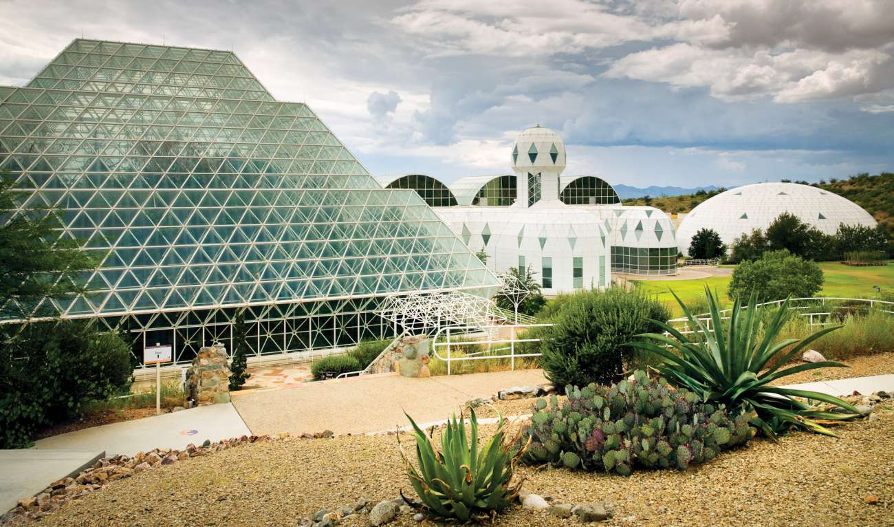 Photo of biosphere 2
