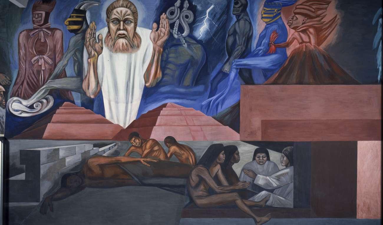 """Coming of Quetzalcoatl,"" Jose Clemente Orozco"